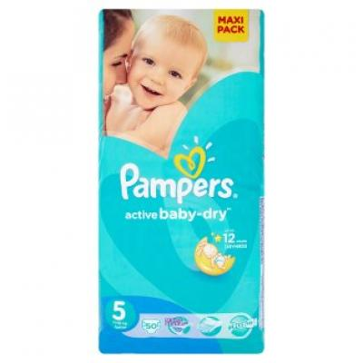Procter&Gamble PAMPERS Active Baby VPP 5 Junior 11-18kg 50 kusů