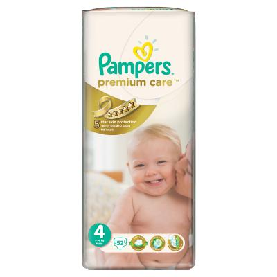 Procter&Gamble PAMPERS Premium Care 4 maxi 7 - 14 kg 52 kusů