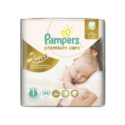 Procter&Gamble PAMPERS Premium Care 1 Newborn 2-5 kg 88 kusů