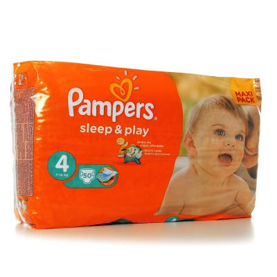 Procter&Gamble PAMPERS Sleep & Play 4 maxi 7 - 14 kg 50 kusů
