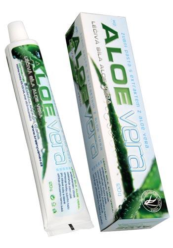 VitalCare CZ s.r.o. VitalCare Zubní pasta WP Aloe vera 120 g