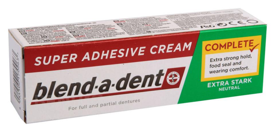 Procter&Gamble Blend-a-dent upevňující krém na zubní náhrady NEUTRAL 47g