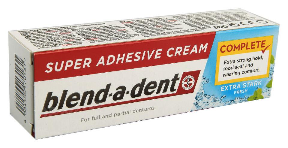 Procter&Gamble Blend-a-dent upevňující krém na zubní náhrady FRISH 47g
