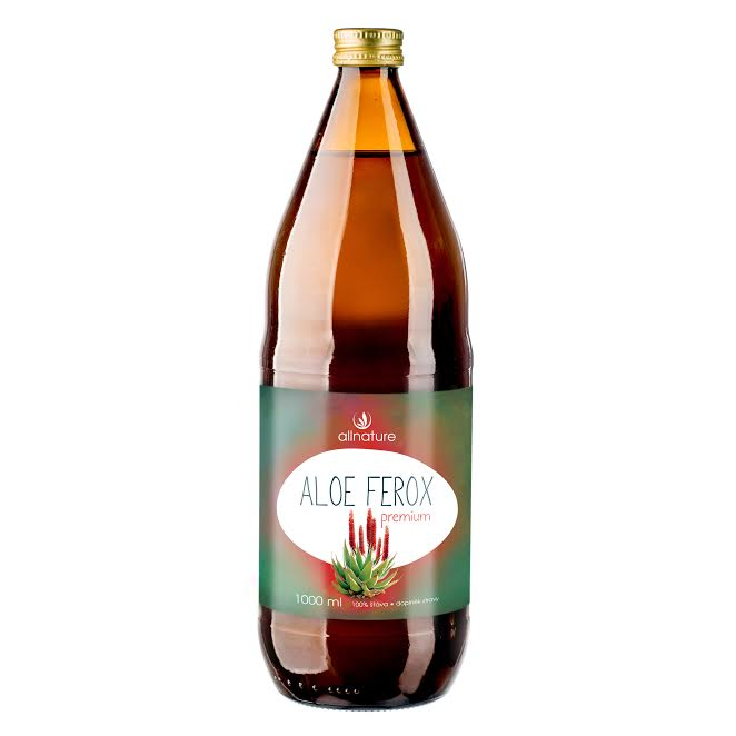 Allnature Aloe Ferox Premium - divoká aloe šťáva 1000 ml