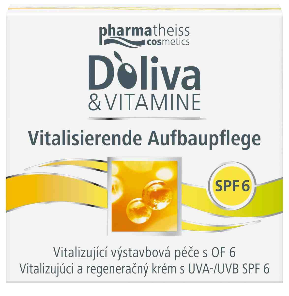 Doliva & Vitamine Vitalizující výstavbový krém 50 ml