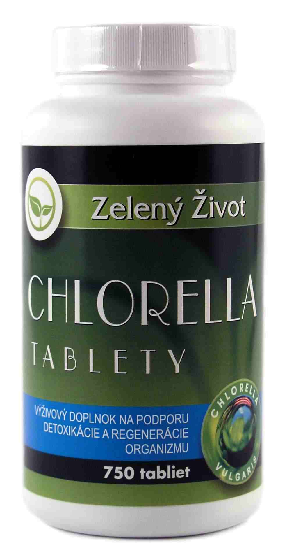 Benevit Zelený Život Chlorella 750 tbl.