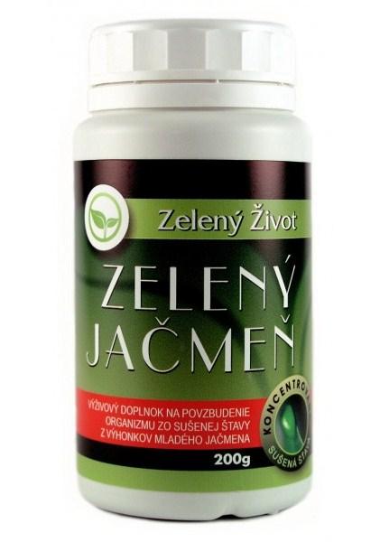 Zelený Život Zelený Ječmen sušená šťáva 200 g