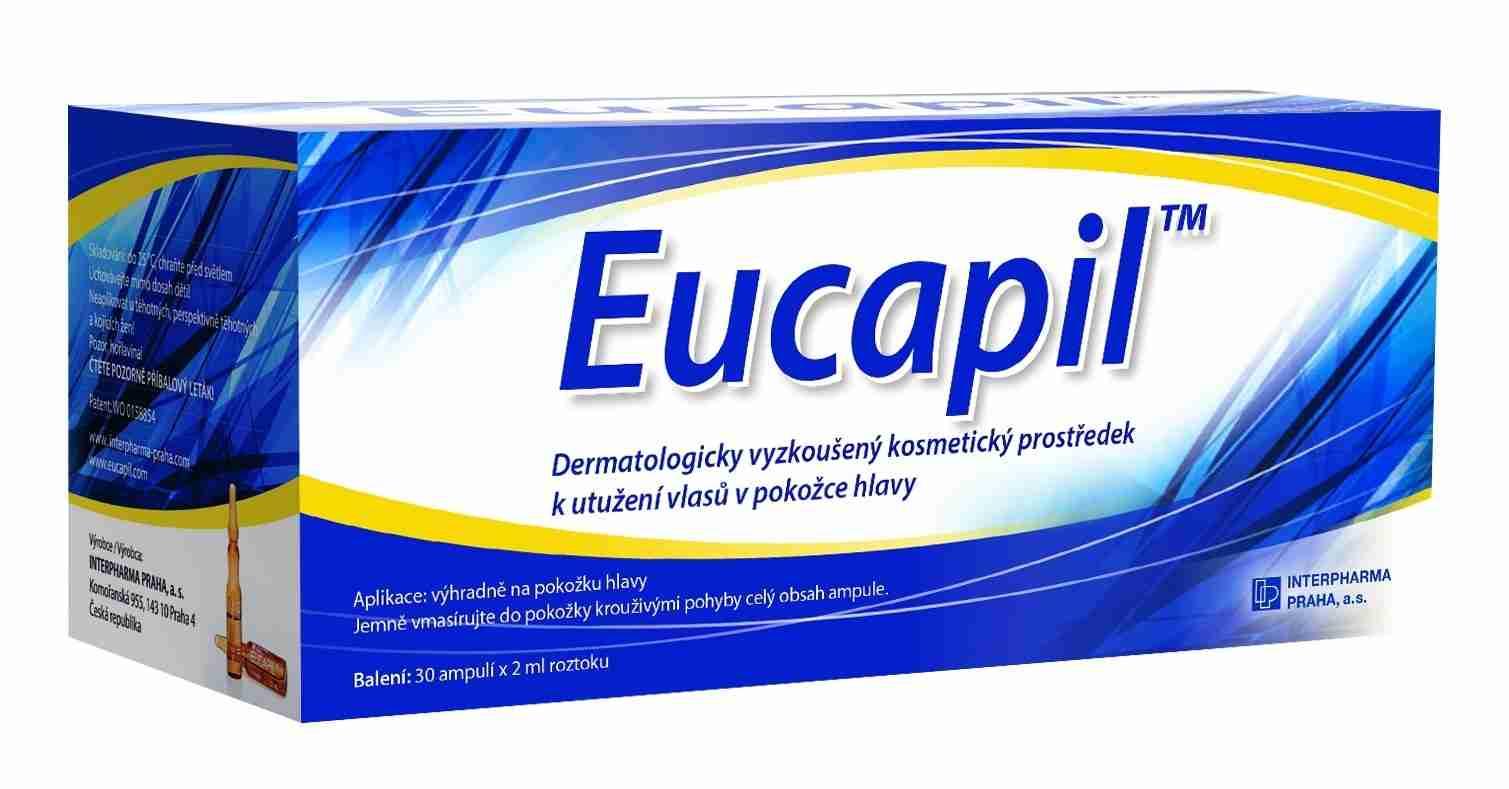 Interpharma Praha Interpharma Eucapil - proti vypadávání vlasů 30x2 ml