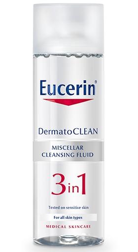 Eucerin Čisticí micelární voda 3v1 DermatoCLEAN 200 ml
