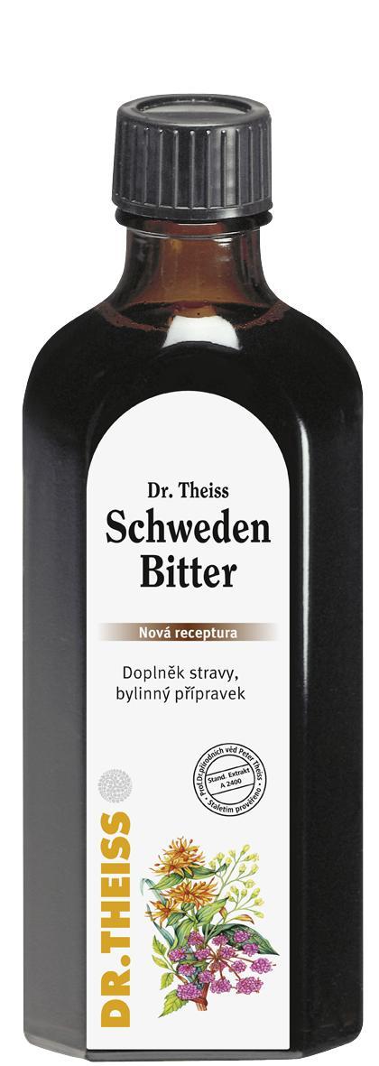 Dr. Theiss Dr.Theiss Schweden Bitter (Švédské kapky) Balení: 100 ml