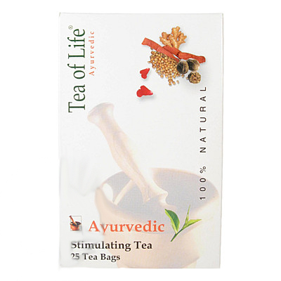 Ajurvédský Bio stimulační čaj Tea of Life 25x2g
