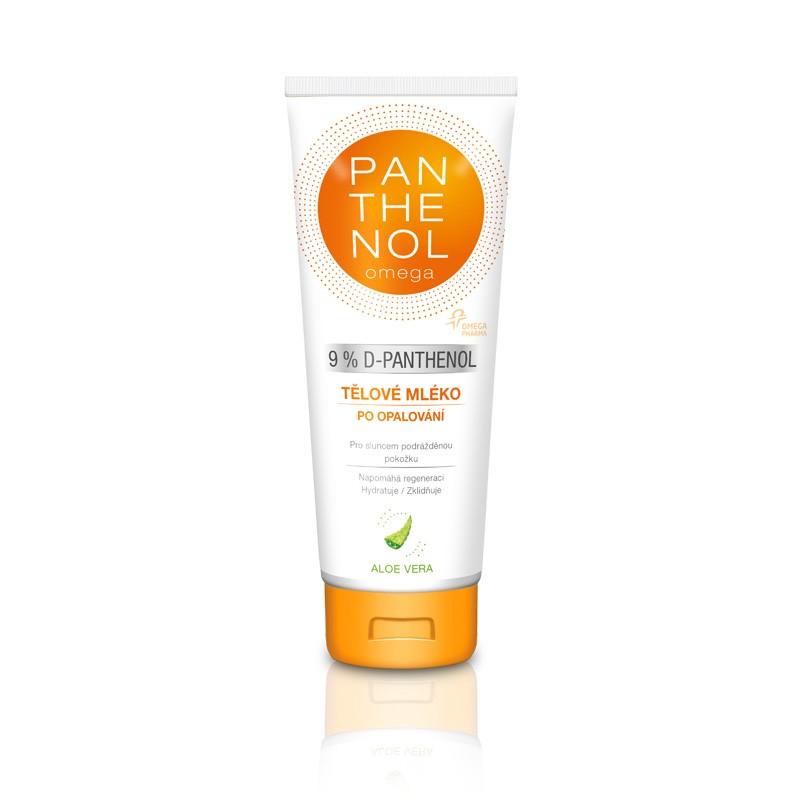 Omega Pharma Panthenol Omega 9% tělové mléko s Aloe vera 250 ml