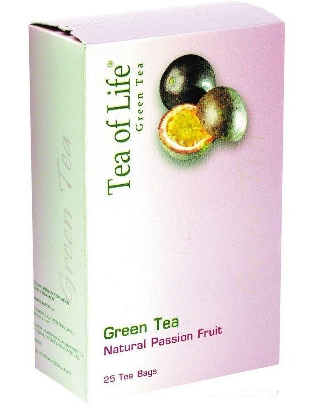 Tea of Life Green tea s mučenkou 25x2g