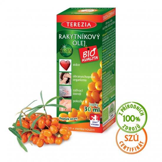 Terezia Company 100% Rakytníkový olej - kapky 30 ml
