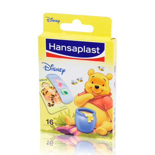 Eucerin HANSAPLAST náplast Junior Winnie Pooh 16 ks