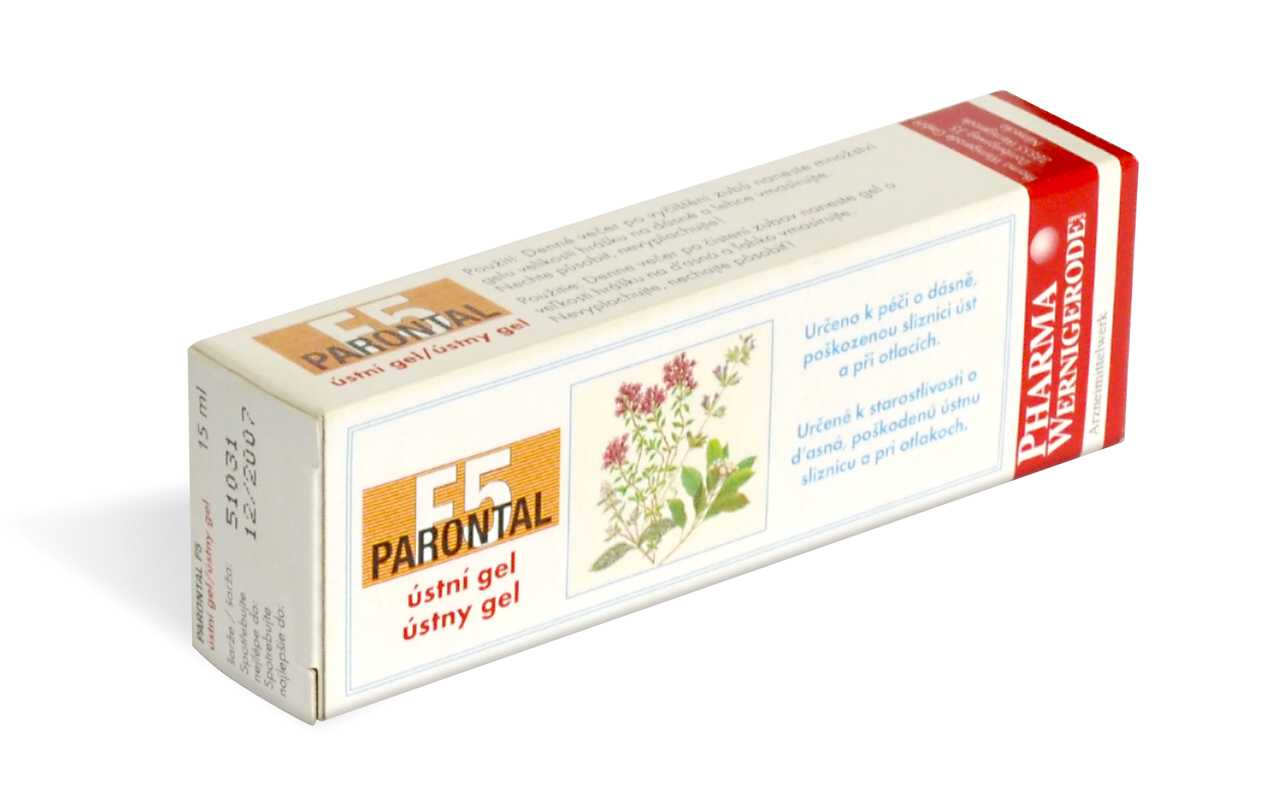 Pharma Wernigerode Parontal F5 ústní gel 15ml