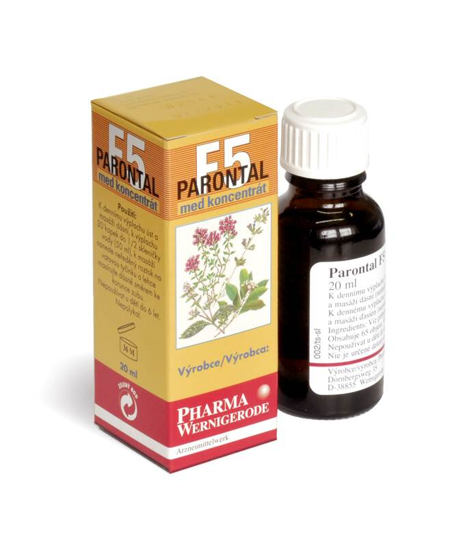 Parontal F5 med koncentrát 20 ml