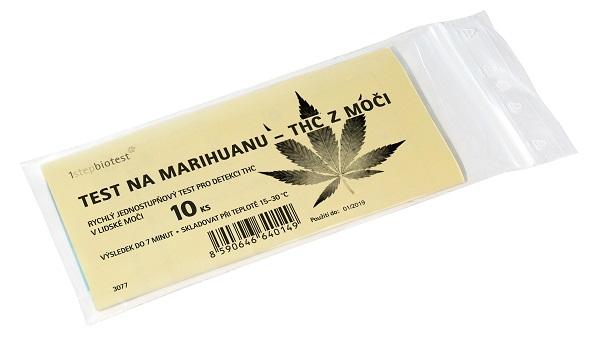 1stepbiotest Test na marihuanu - THC z moči 2 ks