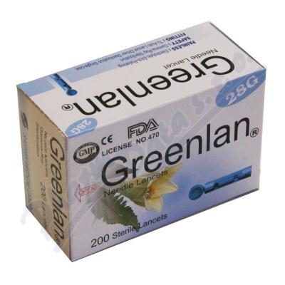 Infopia Co Lancety pro pero ke glukometru Easygluco Glucolab 200 ks