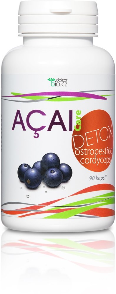 DoktorBio Acai Detox 90 kapslí