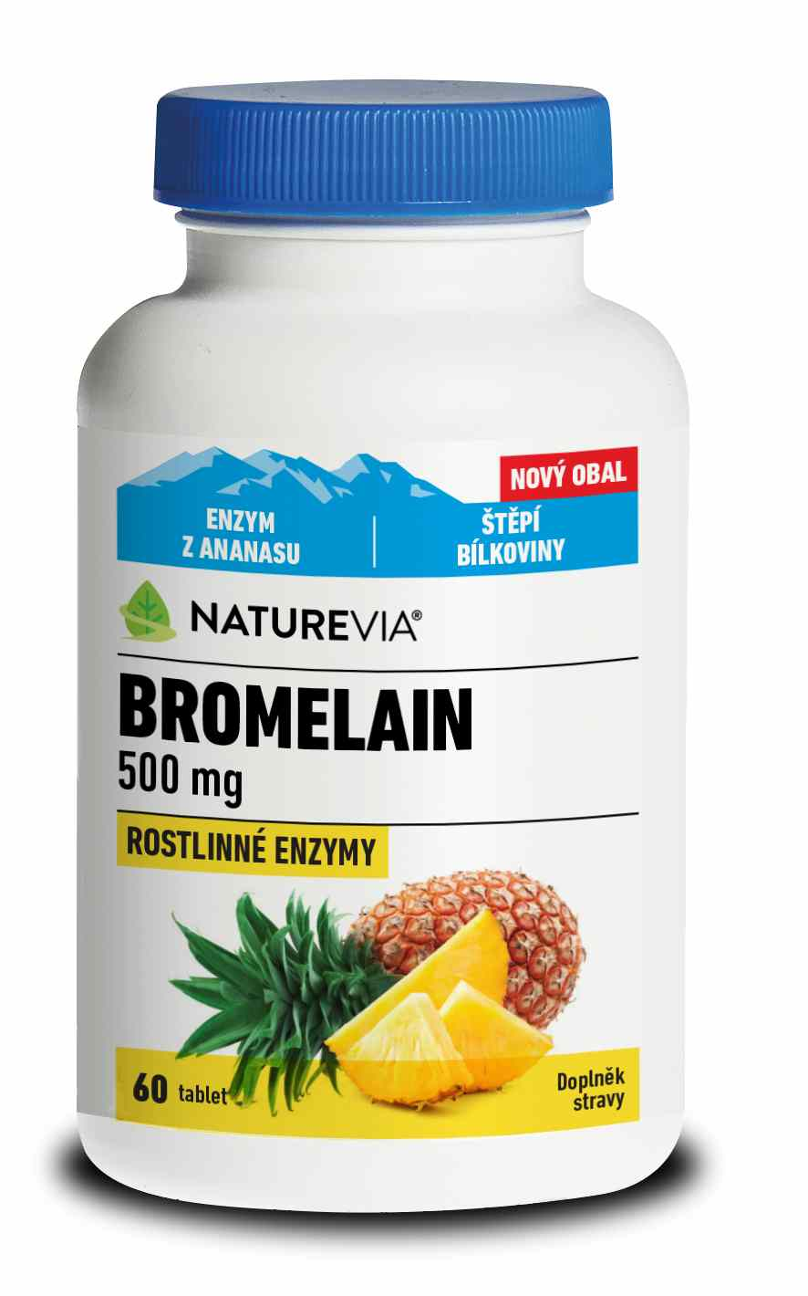Swiss Herbal Remedies Ltd Swiss Bromelain 500mg 30 tbl.