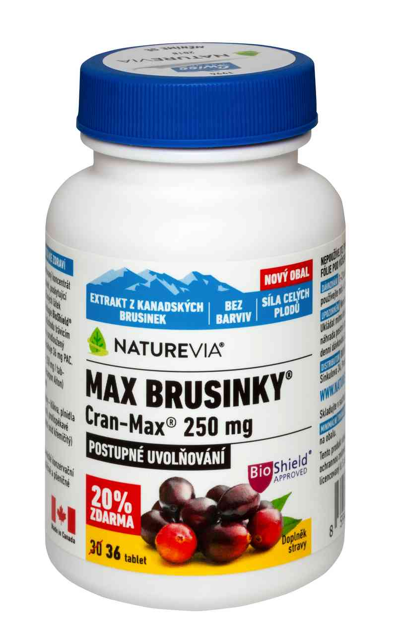 Swiss Herbal Remedies Ltd Swiss Max brusinky 8500mg 30 tbl.