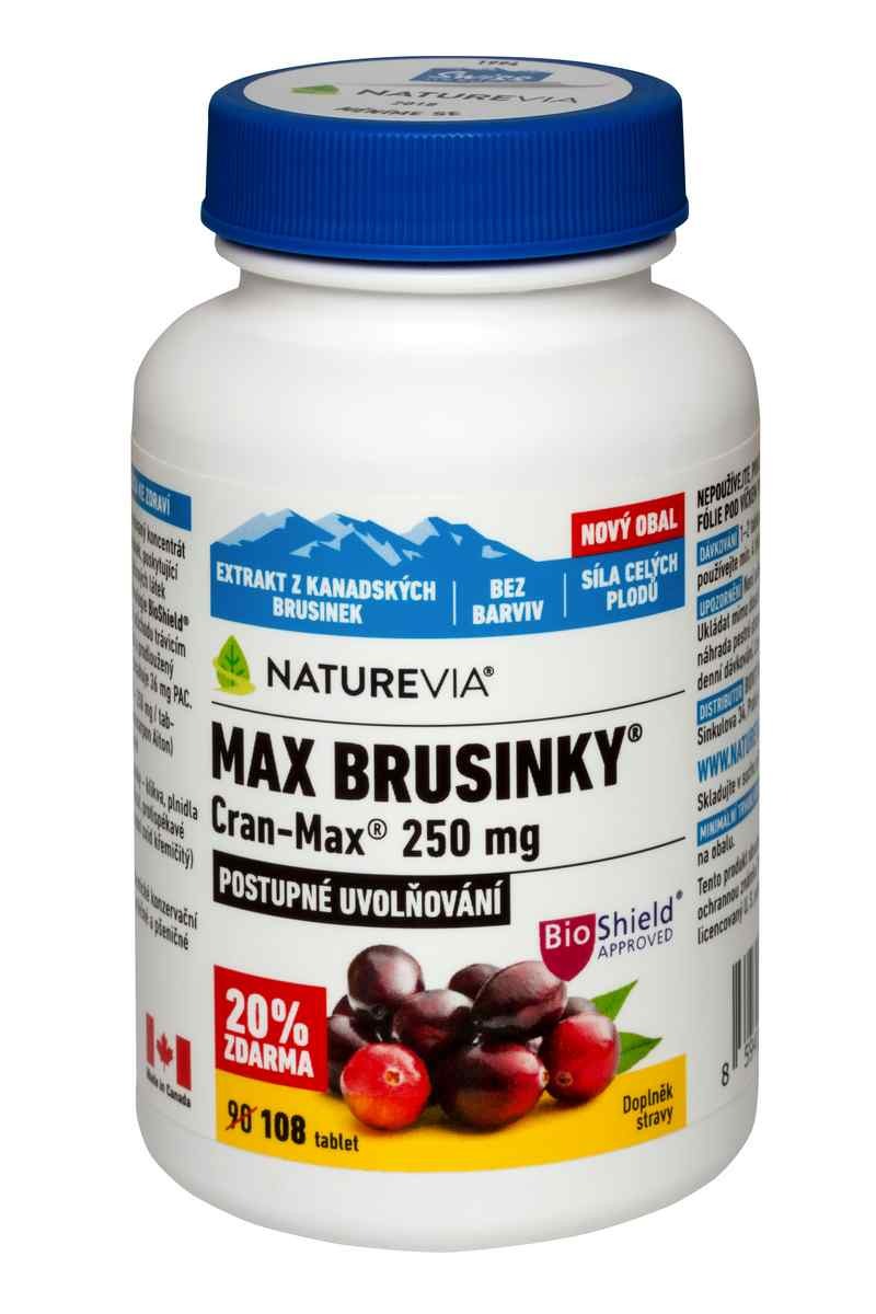 Swiss Herbal Remedies Ltd Swiss Max brusinky 8500mg 90 tbl.