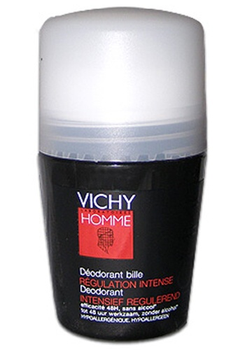 VICHY Kuličkový deodorant Homme Deo roll-on Regulation Intense 50 ml