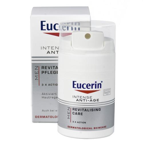 Eucerin Intenzivní krém proti vráskám pro muže Silver Shave 50 ml