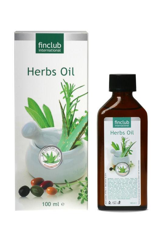 Finclub Herbs Oil - bylinný olej 100 ml