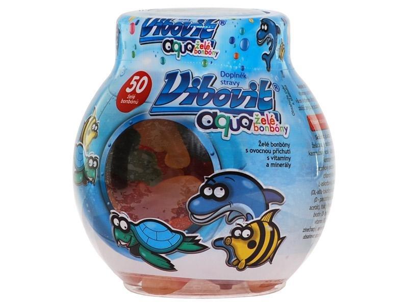 Vibovit Aqua želé bonbóny 50 ks