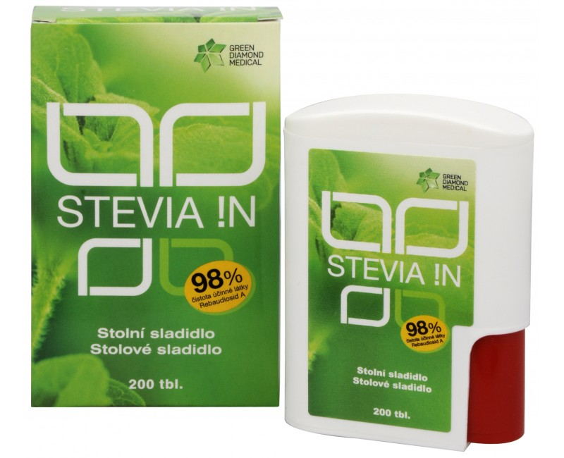Green Diamond Medical GDM Stevia !N 200 tbl.