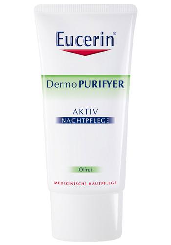 Eucerin Aktivní hydratační noční krém pro problematickou pleť DermoPURIFYER 50ml