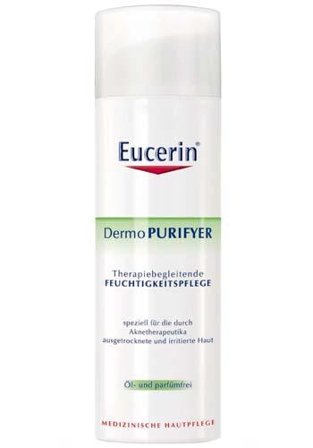 Eucerin Intenzivně hydratační denní krém DermoPURIFYER SPF 30 50 ml