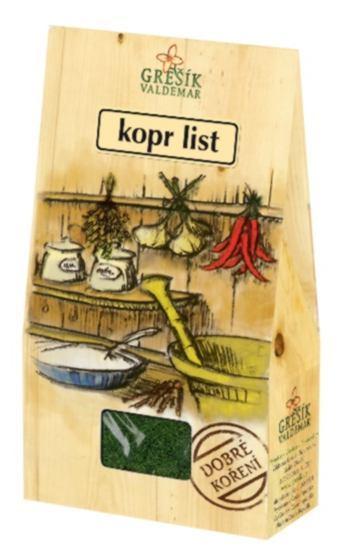 Grešík Kopr list 20 g