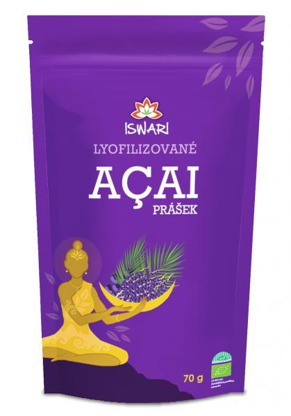 Iswari Bio Acai prášek 70 g