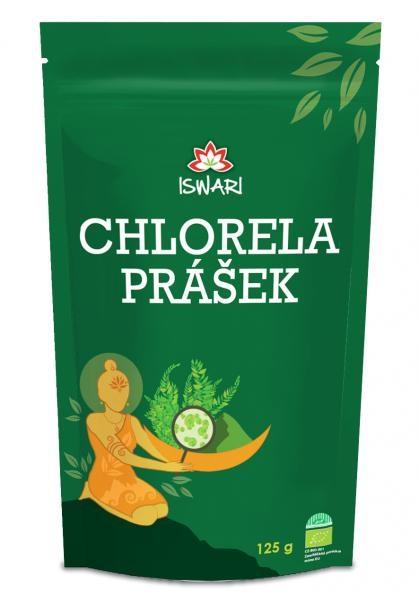 Iswari Bio Chlorela prášek 125g