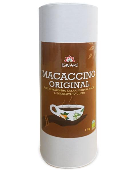 Iswari Bio Macaccino Kakaový energetický nápoj 125g