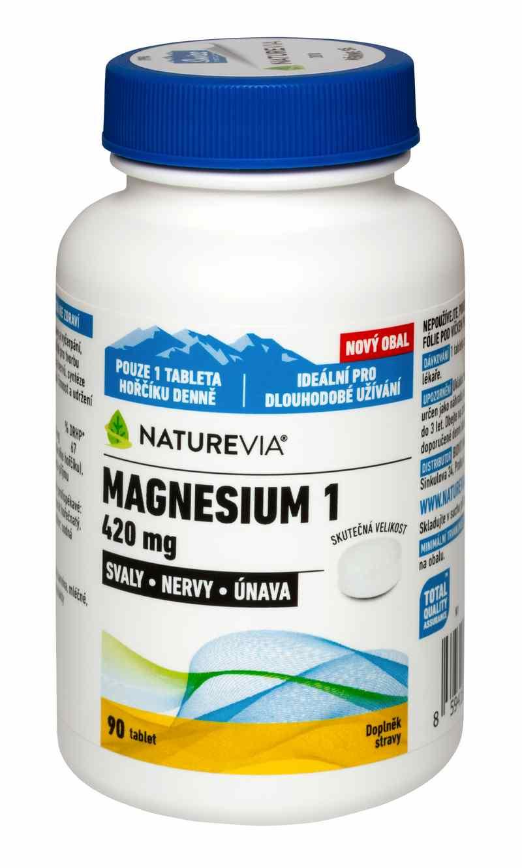 "Swiss Magnesium ""1"" 420mg 90 tbl."