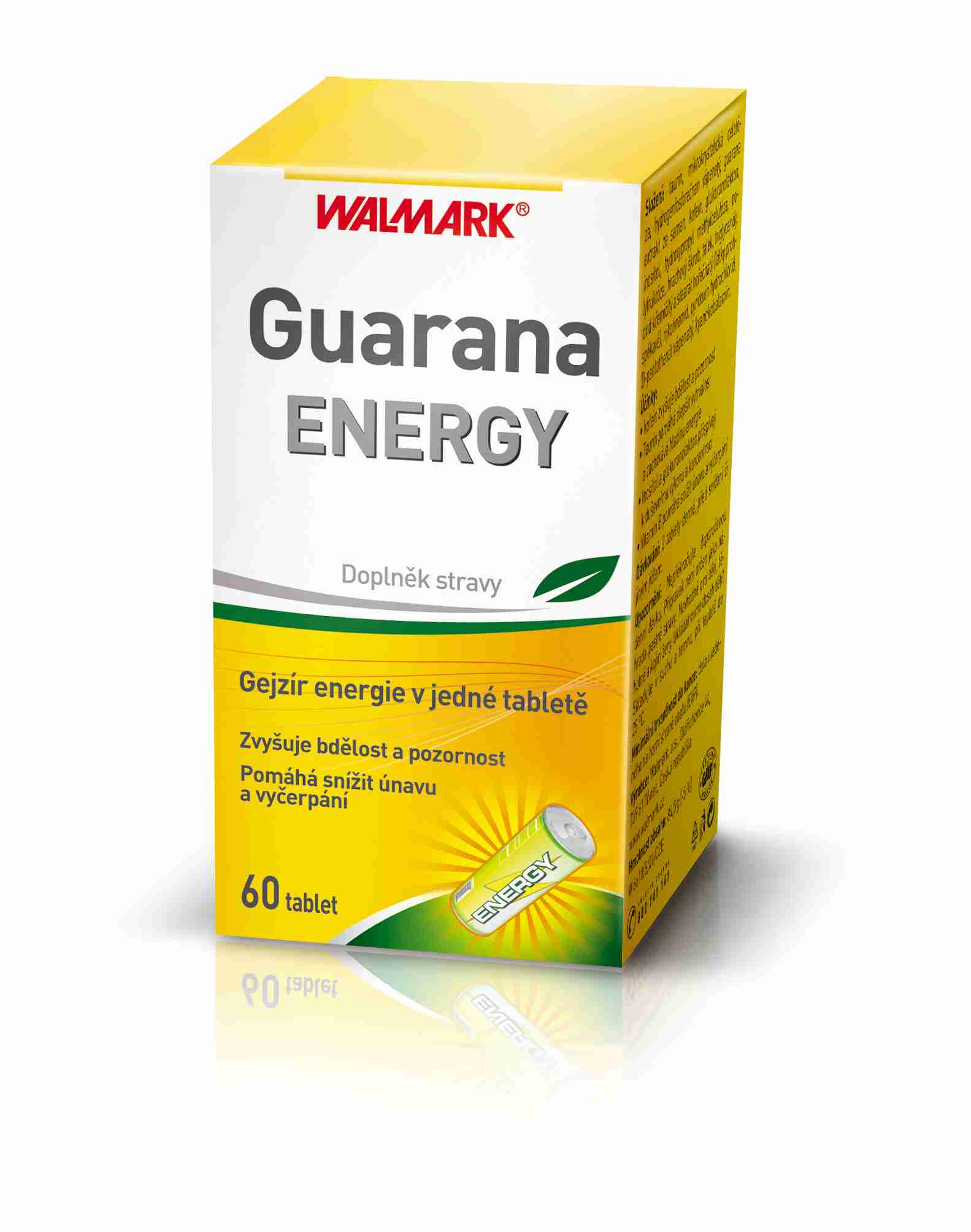 Walmark Guarana Energy 60 tbl.