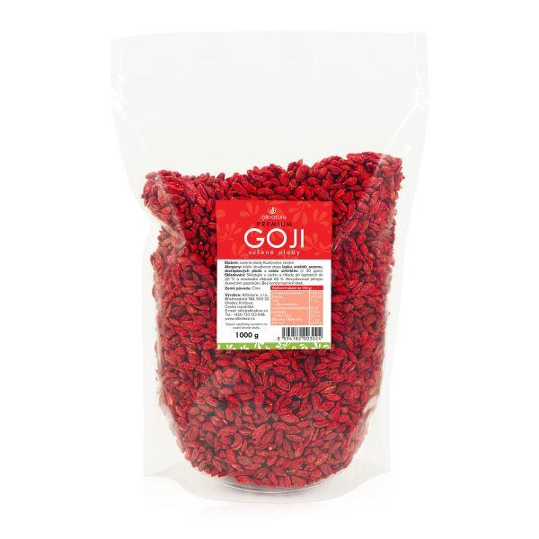 Allnature Goji Kustovnice čínská sušené plody 1000 g