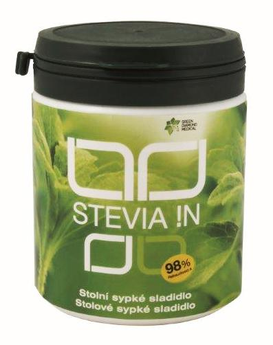 Green Diamond Medical GDM Stevia !N sypké sladidlo 140 g