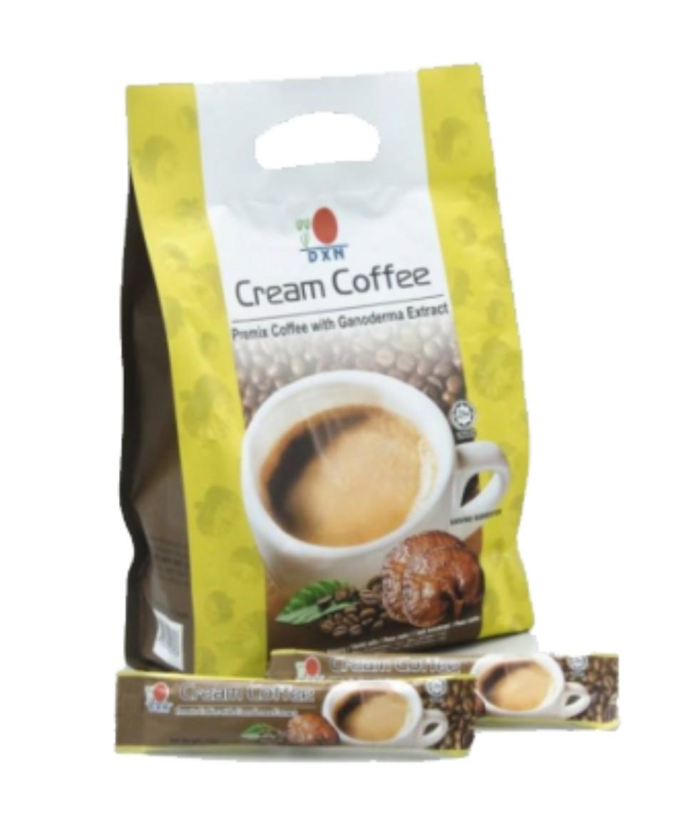 DXN Káva Cream Coffee s Reishi 20 sáčků x 14g