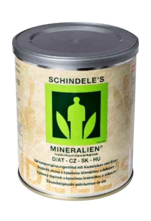 Robert Schindele GesmbH Schindeleho minerály 500 kapslí