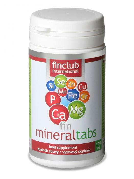 Finclub Fin Mineraltabs 110 tbl.