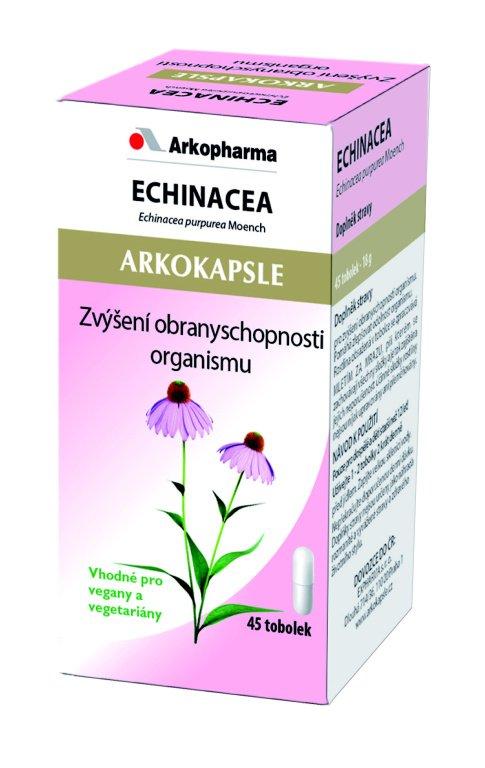 Arkokapsle Echinacea 45 kapslí