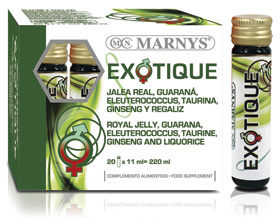 Marnys S-Exotique - pitné ampule 20x11 ml