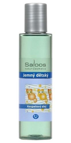 Saloos Jemný dětský - koupelový olej 125 ml