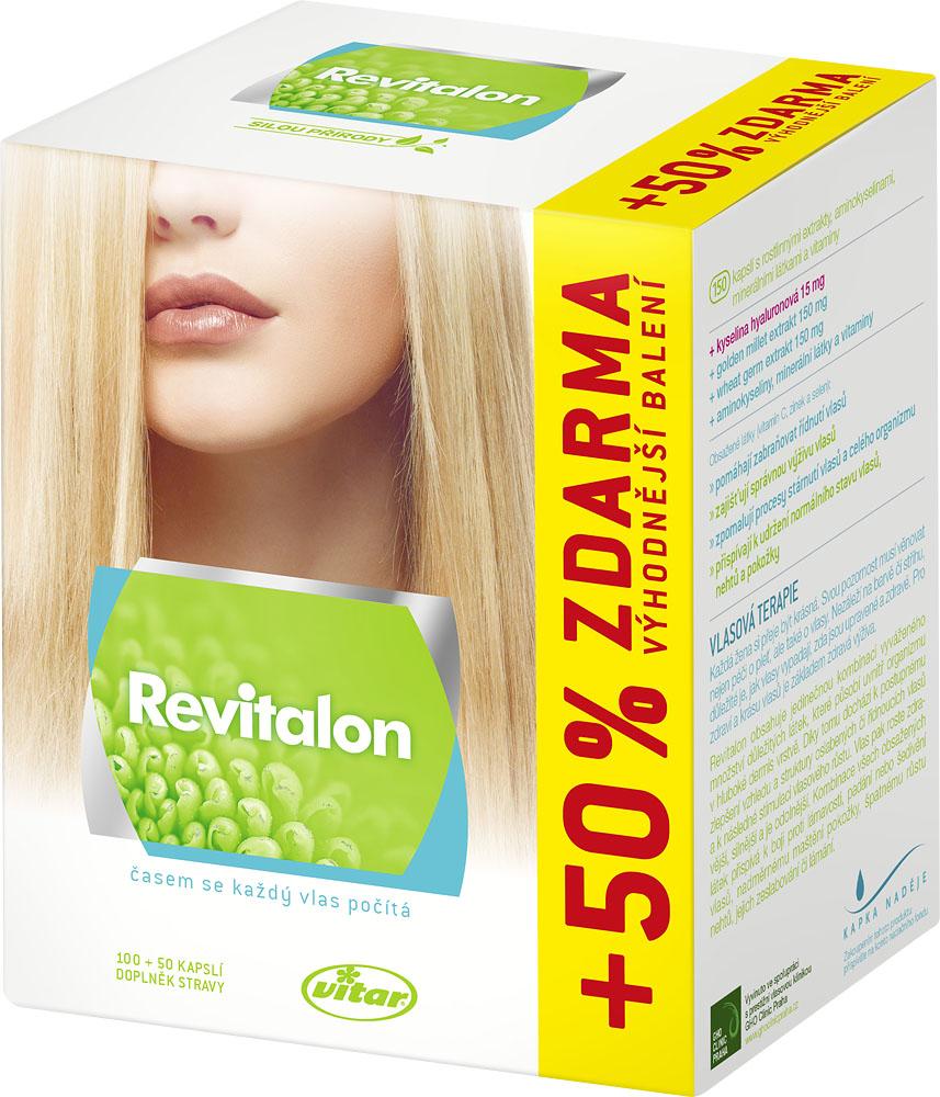 Vitar Revital Revitalon 100 kapslí + 50 kapslí ZDARMA