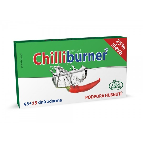 Good Nature Chilliburner 45 tbl. + 15 tbl. ZDARMA